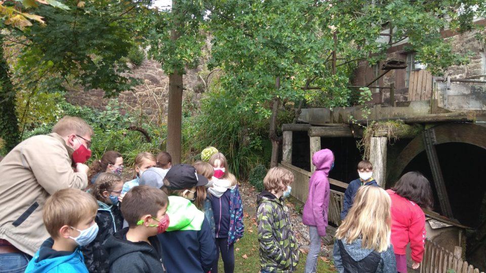 Besuch der Hagenmühle